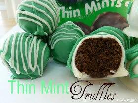Thin Mint Truffles Yum