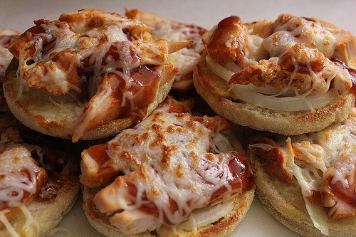 Kid Friendly BBQ Chicken Pizzas
